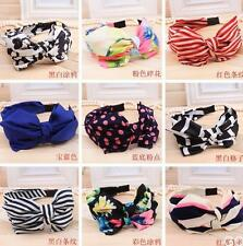 GO US New Lady Girl Cute Sweet Big Bowknot Ribbon Hair Accessories Headband Bow