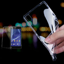 0.3MM Ultra-thin Transparent Gel Case Cover For Sony Xperia Z1 Z2 Z3 C3 M2