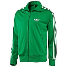 Adidas Originals Firebird Track Top Jacket FAIRWAY Green (White Stripes)