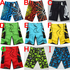 Men Boardshorts Surf Board Shorts Swim Wear Beach Sports Trunks Pants SZ 30-38 F