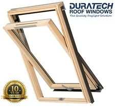Velux/Duratech Centre Pivot Ventilated Roof Window 550 x 980mm with Flashing
