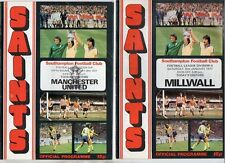 Southampton HOME programmes 1976/77 FREE P&P UK Choose from list