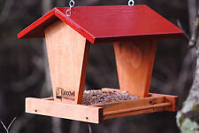 SALE!! FLY-through BIRD FEEDER!  made by GOODWILL clients. SPRING yard decor