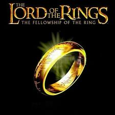 Lord of the Rings The One Ring LOTR Titanium Steel Wedding Aragon Ring COS New