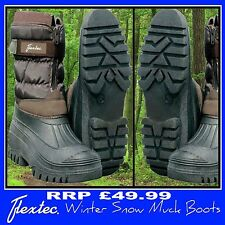 Flextec Waterproof Winter Yard Stable Snow Rain Wellington Muck Boots Wellys