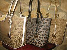 Michael Kors *Jet Set Grab Bag/Tote/Purse Gold, Black or White $268 NWT Dust Bag