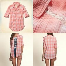 NWT HOLLISTER BY ABERCROMBIE BETTYS Seaside Reef Shirt Size S , M  , L