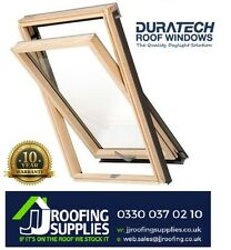Velux/Duratech Centre Pivot Roof Window 780 x 1400mm with Flashing