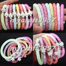 New Hot 17 Colours Stardust Bracelet New Mesh Crystals Shamballa Clip Magnetic