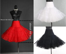 "26""50s Retro Underskirt Swing Vintage Petticoat Fancy Net Skirt Rockabilly NEW"