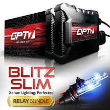 OPT7 Slim H11 HID Kit w/Relay Harness Bundle ¦ All Xenon Light Colors