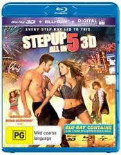 Step Up All In | 3D + 2D Blu-ray + UV - Blu Ray Region B Brand New Free Shipping