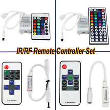 Wireless IR/RF Remote Dimmer Controller 12-24V For RGB Cool Warm LED Strip Light