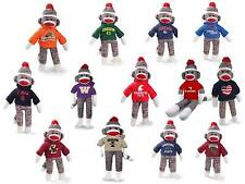 "8"" Sock Monkeys!  Northwest Colleges/University - 100% funds to Autism Charities"