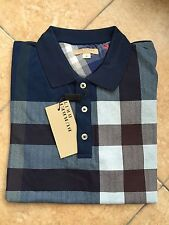 Burberry Brit Polo T- Shirt %100 Cotton Free Shipping