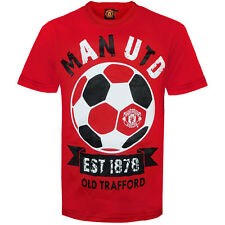 Manchester United Football Club Official Soccer Gift Infants Graphic T-Shirt Red