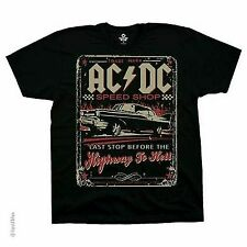 AC/DC SPEEDSHOP HIGHWAY TO HELL DRAG RACING MUSIC ACDC T TEE SHIRT M-6XL