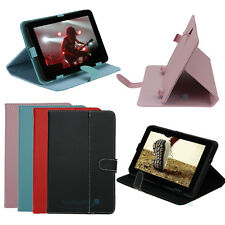 "New 9"" inch Leather Protective Stand folio Case Skin Cover for Android Tablet PC"
