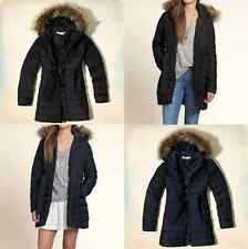 NWT Hollister by Abercrombie Womens Scripps Pier Parka Jacket Coat