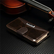 Luxury Leather Magnetic Flip Flip Stand Wallet Case Cover For Apple iPhone 5/5S