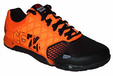 Reebok Crossfit Nano 4.0 Men's Shoes Solar Orange / Black NEW M49986 Many Sizes