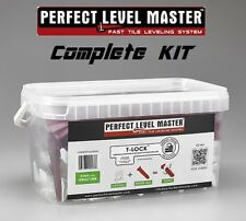 "PERFECT LEVEL MASTER ""KIT"" Professional Tile leveling system wall floor spacers"
