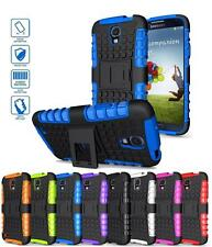 Rugged Armored Hybrid Case Cover Box w/ Stand For Samsung Galaxy S4 Active i537