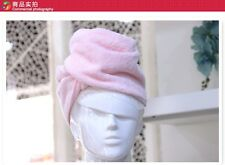 Brand quality thicker & long cotton hair towel, towel dry hair shower cap YM006