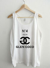You Go Glen Coco Couture typography American Apparel Unisex Tank Top  mean girls