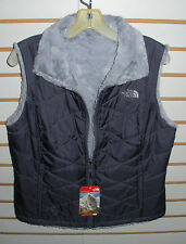 THE NORTH FACE WOMENS MOSSBUD SWIRL  VEST- JACKET- C904- GREYSTONE BLUE- M,L,XL