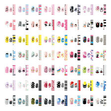 NAIL WRAPS STICKERS - Full Self Adhesive Polish Foils Decoration Art Decals DIY