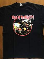 Iron Maiden The Trooper 100% Cotton Shirt Black New Style Music Rock