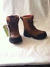 "New! Boy's Toddler Skechers- ""Liam Lovato"" High Ankle Winter Boots in Brown  E6"