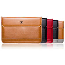 """Genuine Leather Notebook laptop Sleeve Case Bag For Apple MacBook Pro/Air 11 13"""""""