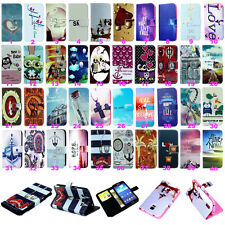 Vintage Stand Flip Wallet Leather Hybrid Case Cover For Samsung Galaxy Phone