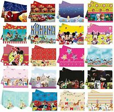 PLASTIC TABLECOVER - LICENSED CHARACTER DESIGNS Range (Birthday Party){Set2}