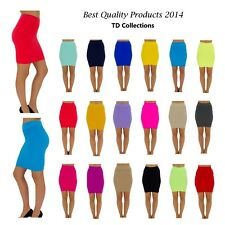 Women Summer Sexy High Waist Pleated Skinny Candy Colors Mini Bandage Hip Skirt-