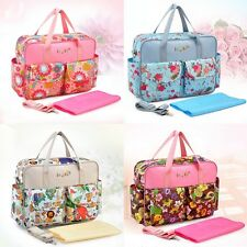 New fashion lady bags Multi-Function Baby Diaper Nappy Tote Shoulder Bag Mom bag
