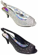 Women Evening Dress Shoes Rhinestones High Heels Platform Wedding Pumps Cassie