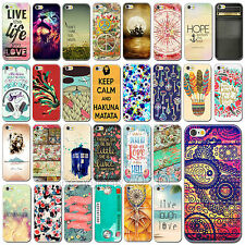 Retro Colorful Scenery Pattern Hard Back Case Cover Protector for iPhone 6 6Plus