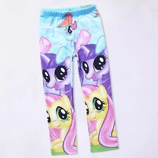 Cartoon My Little Pony Clothes 5-10Y Baby Kids Girls Leggings Pants Spring Wear