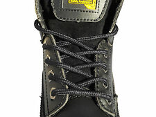 NEW STRONG SHOE LACES 140cm LONG WORK BOOT LACES FOR SAFETY BOOTS STEEL TOE CAPS