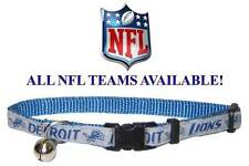 NFL Football CAT Safety Collar * ALL TEAMS AVAILABLE * Kitty Kitten Jingle Bell