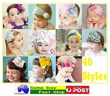 Multi-Coloured Cotton Headbands Hair Accessories Band for Toddlers Baby Children