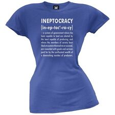 Ineptocracy Definition Royal Juniors Blue T-Shirt