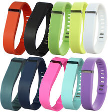 10Pcs Replacement Wristband & Clasp For Fitbit Flex SMALL&LARGE Bands(NO Traker)
