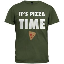 It's Pizza Time Adult Mens T-Shirt
