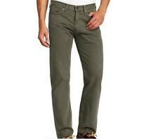 DOCKERS 5 POCKET STRAIGHT FIT MEN'S RIFLE GREEN FLAT FRONT PANTS NWT