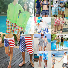 Womens Mens Surf Boardshorts Board Shorts Sports Beach Swim Pants New Trunks