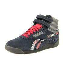 Reebok Freestyle Hi Exotics Womens Leather Sneakers Shoes
